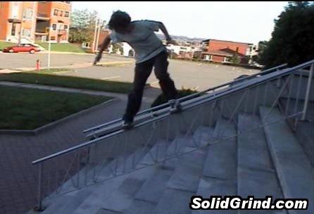 SSCFSW Sam hittin a Frontside