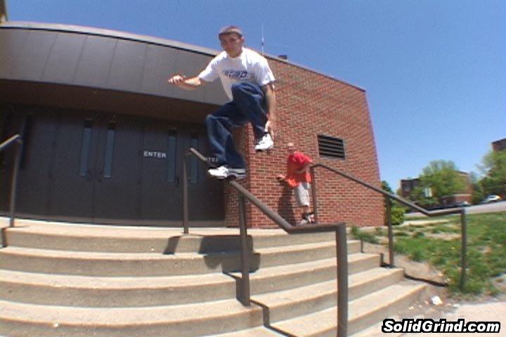 Aaron Taraboletti hittin a stickin a backslide