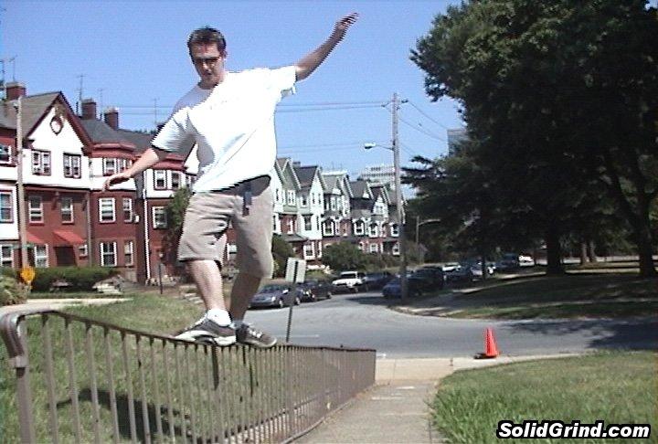 Alexei Tajzler of DEOS hittin an Alley-Opp CG in Wilmington, Delaware