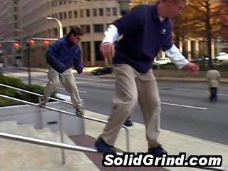 Alexei Tajzler and Kyle Lefler hittin a Synchronized Soaping