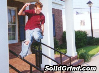 Darren McCall hittin a Backslide