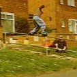 Daz Burt pulling a frontside 'nugen during the UKFSW Ipswich trip.