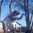 Casey Faris hittin a Nugen