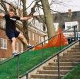 Jeremy Koch hittin a Frontside